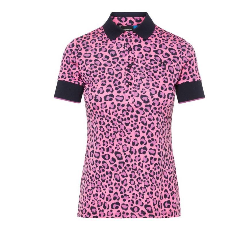 Obrázok ku produktu Polokošeľa dámska J.Lindeberg Lexie-TX Coolmax pink