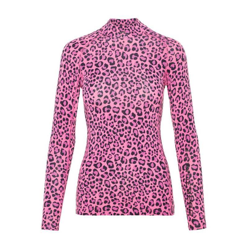Obrázok ku produktu Tričko dámske J.Lindeberg Asa Print Soft Compression pink leopard