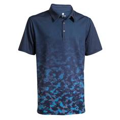 Obrázok ku produktu Polokošeľa BackTee pánska Mens Faded QD UV Polo