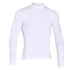 Obrázok ku produktu Tričko pánske Under Armour Cold Gear Armour Mock biele