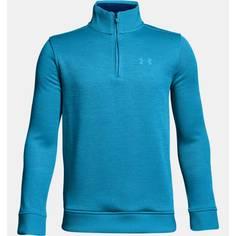 Obrázok ku produktu Mikina UA juniorská Boys Storm Sweaterfleece QZ canon blue