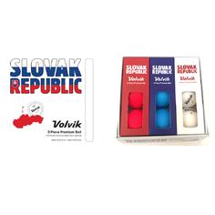 Obrázok ku produktu Golfové loptičky Volvik Vivid Slovakia pack, 9-balenie