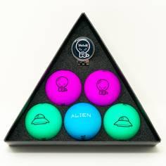 Obrázok ku produktu Golfové loptičky  Volvik Vivid Alien Edition, 5-balenie