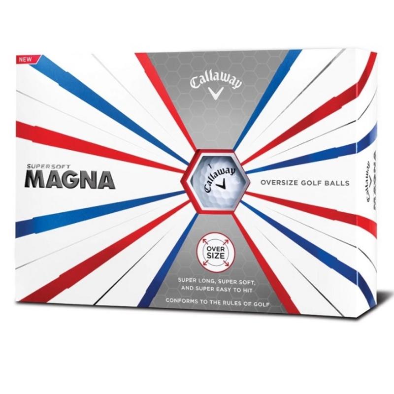 Obrázok ku produktu Golfové loptičky  Callaway SuperSoft Magna 19, 3-balenie biele