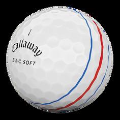 Obrázok ku produktu Golfové loptičky Callaway ERC Soft Tripple Track 19 White, 3-balenie