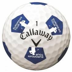 Obrázok ku produktu Golfové loptičky Callaway Chrome Soft Truvis, Futbalová vizualizácia, European Tour, 3-balenie