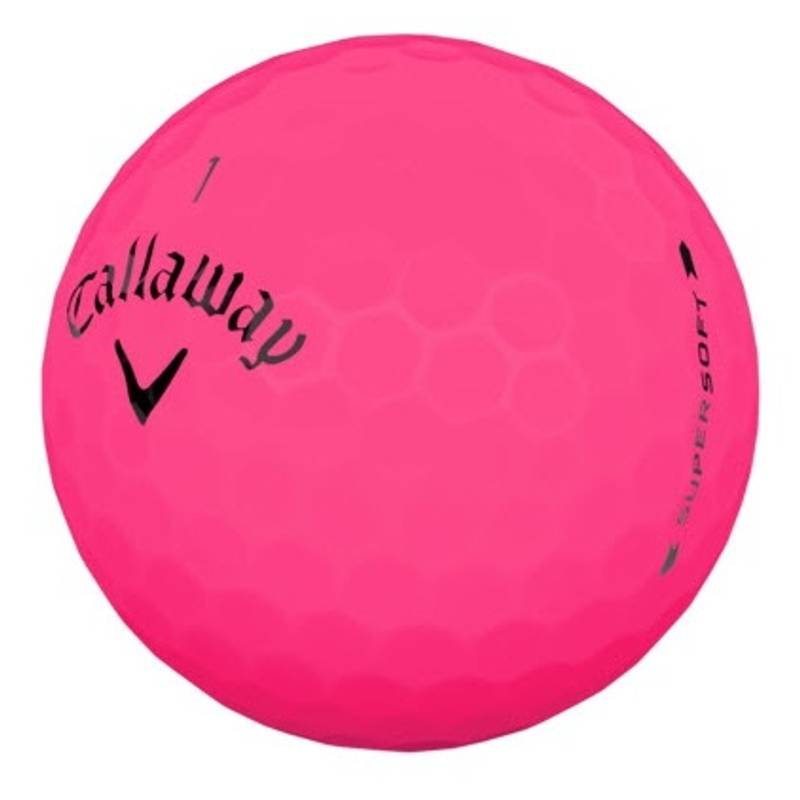 Obrázok ku produktu Golfové loptičky  Callaway Supersoft Matte Pink, 3-balenie