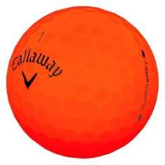 Obrázok ku produktu Golfové loptičky Callaway Supersoft Matte Orange, 3-balenie