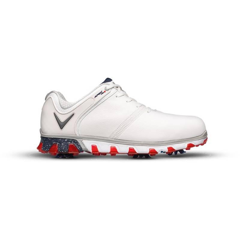 Obrázok ku produktu Pánske golfové topánky Callaway  APEX Pro S white/red