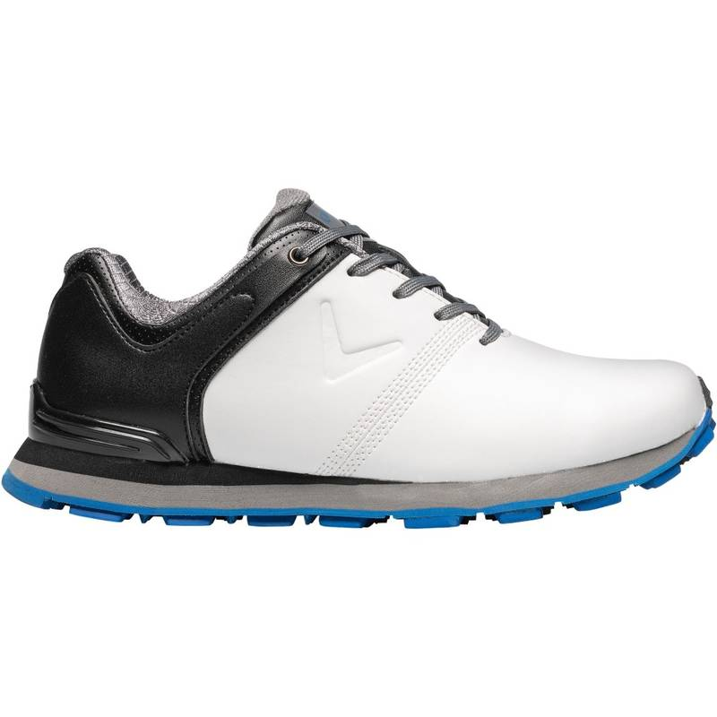 Obrázok ku produktu Juniorské golfové topánky Callaway APEX Junior bielo-čierne