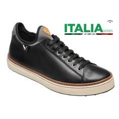 Obrázok ku produktu Pánske golfové topánky Callaway  Casual Black ITALIA Series čierne