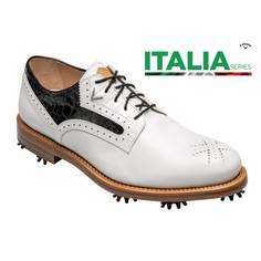 Obrázok ku produktu Pánske golfové topánky Callaway Classic S White/Black Italia Series