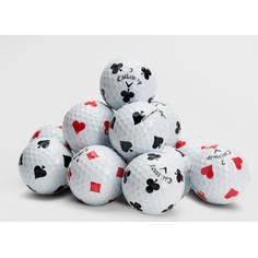 Obrázok ku produktu Golfové loptičky Callaway Chrome Soft Truvis, Futbalová vizualizácia, Suits, 3-balenie