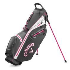 Obrázok ku produktu Golfový bag Callaway Stand Hyper Dry C šedý/ružový
