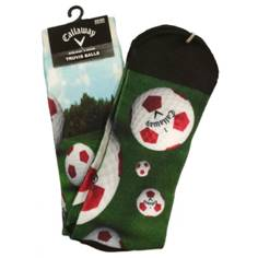 Obrázok ku produktu Pánske ponožky Callaway TRUVIS Sublimated balls zelené/golfové loptičky