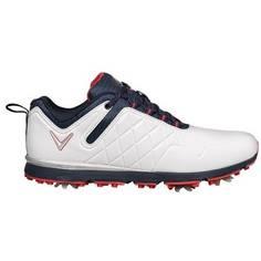 Obrázok ku produktu Dámske golfové topánky Callaway Lady Mulligan bielo-tmavomodré