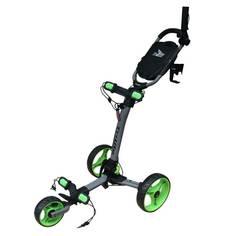 Obrázok ku produktu Vozík Axglo TriLite - Šedý so zelenými kolieskami