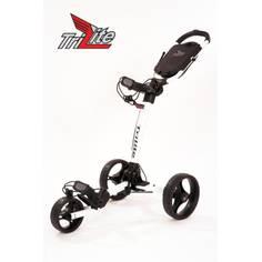 Obrázok ku produktu Vozík Axglo TriLite - biely s čiernymi kolesami