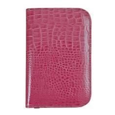 Obrázok ku produktu Obal na skore kartu Suprize p Croc Effect Golf Scorecard Holder  Raspberry Pink