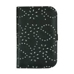Obrázok ku produktu Obal na skore kartu Suprize Floral Glitter Golf Scorecard Holder in Black