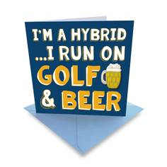 Obrázok ku produktu Karta Ball Marker Golf and Beer