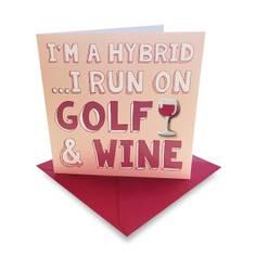 Obrázok ku produktu Karta Ball Marker Golf and Wine