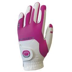 Obrázok ku produktu Dámska golfová rukavica  Zoom Weather - ľavá, white/fuchsia