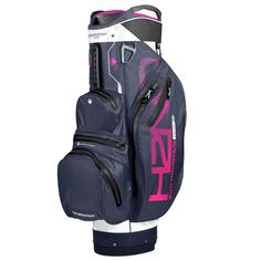 Obrázok ku produktu Nepremokavý golfový bag  H2NO Lite  Cart White/Navy/Pink