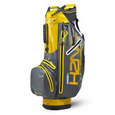 Obrázok ku produktu Nepremokavý golfový bag  H2NO SuperLite Cart Gunmetal/Yellow