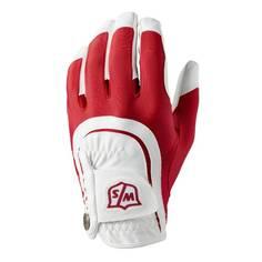 Obrázok ku produktu Pánska golfová rukavica  Wilson,ľavá, červená, univerzálna veľkosť
