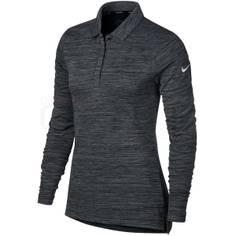 Obrázok ku produktu Dámske tričko Nike Golf DRY TOP LS čierny melír