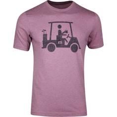 Obrázok ku produktu Tričko pánske Travis Mathew MAPES Heather Bordeaux