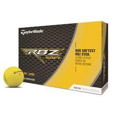Obrázok ku produktu Golfové loptičky Taylor Made RBZ Soft -žlté, 3-balenie