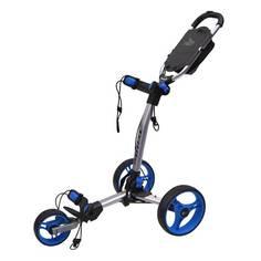Obrázok ku produktu Vozík Axglo TriLite - šedý s modrými kolesami