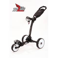 Obrázok ku produktu Vozík Axglo TriLite - čierny s bielymi kolesami