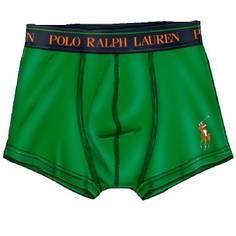 Obrázok ku produktu Boxerky Ralph Lauren Polo Solid Trunk Single Green