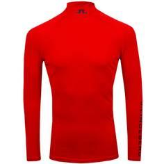 Obrázok ku produktu Pánske tričko J.Lindeberg Aello Soft Compression červené