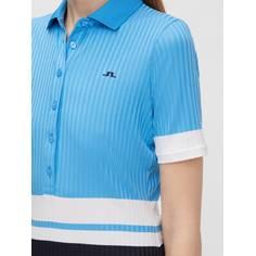 Obrázok ku produktu Dámska polokošeľa J.Lindeberg Nina Golf modrá