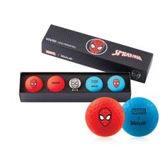 Obrázok ku produktu Golfové loptičky Volvik Spider Man Long, 4-balenie