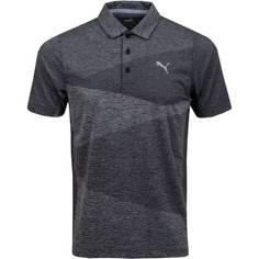 Obrázok ku produktu Pánska polokošeľa Puma Golf Alterknit Jacquard Polo Black Heather