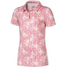 Obrázok ku produktu Dievčenská polokošeľa Puma Golf Floral Rosewater