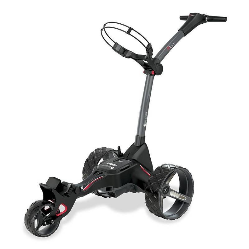 Obrázok ku produktu Elektrický golfový vozík Motocaddy  M1 DHC s Ultra Lithium batériou