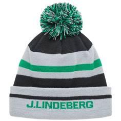 Obrázok ku produktu Unisex čiapka J.Lindeberg Stripe Golf šedo-zelená
