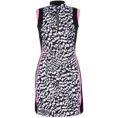 Obrázok ku produktu Dámske šaty Tail Activewear Jamie Golf Dress čierno-ružovo-biele