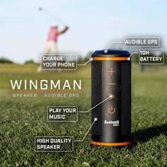 Obrázok ku produktu Golfový merač vzdialenosti - Bluetooth GPS reproduktor Bushnell WingMan, s magnetickým uchytávaním na golfové autíčko