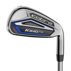 Obrázok ku produktu Golfové palice - sada želiez Cobra King F8 One Length,  MRH,  Aldila Rogue Pro R-65 Graphite Regular, pre pravákov, železá s rovnakou dĺžkou shaftov