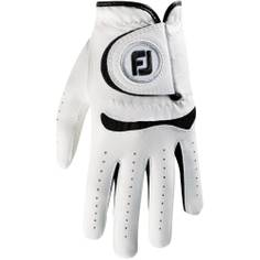 Obrázok ku produktu Juniorská golfová rukavica Footjoy JUNIOR white/black na pravú ruku