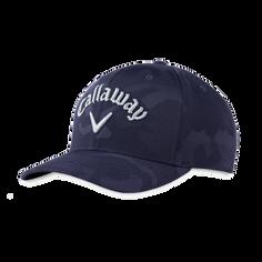 Obrázok ku produktu Golfová čapica - šiltovka Callaway CAMO SNAPBACK ADJ Navy - modrá