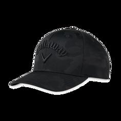 Obrázok ku produktu Golfová čapica -šiltovka Callaway CAMO SNAPBACK ADJ Black