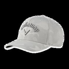 Obrázok ku produktu Golfová čapica - šiltovka Callaway CAMO SNAPBACK ADJ Grey - šedá